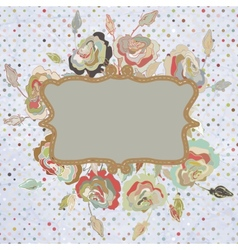 Vintage frame for retro banners EPS 8 vector image vector image