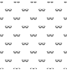 Sunglasses pattern simple style vector image