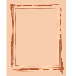 Frame outline drawing vector