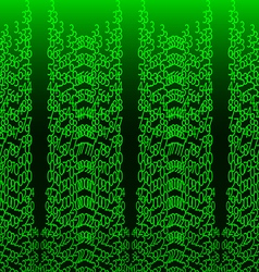 Matrix concept abstract technology background vector