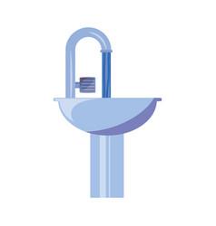 bath symbol isolated vector image