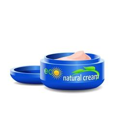 Cosmetic cream vector image vector image