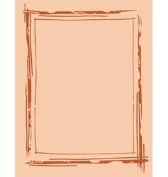 Frame outline drawing vector