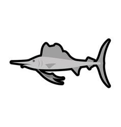 sea life style design vector image