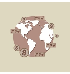 Business world money economy vector