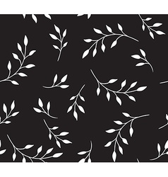 Seamless pattern floral stylish background vector