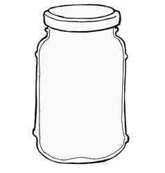 Jar vector