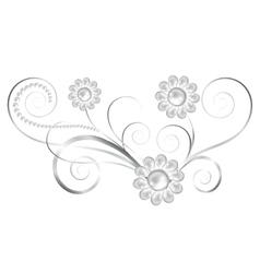 Jewelry element vector image