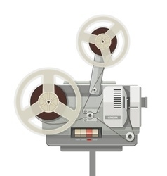 Vintage retro cinema vector