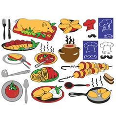 Food restaurant vector