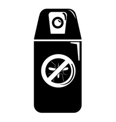 mosquito spray icon simple black style vector image