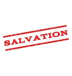 Salvation watermark stamp vector
