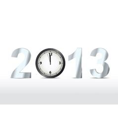 2013 countdown vector image