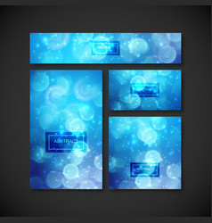 set of design elements for design vector image