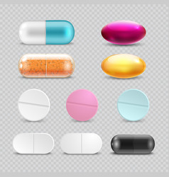 Medicine painkiller pills pharmaceutical vector