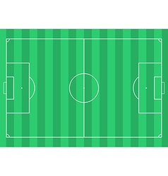 Football soccer field vector