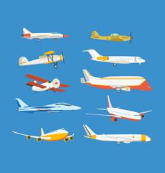 Airplane passenger military biplane airplane vector