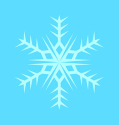 Snowflake sharp symbol vector