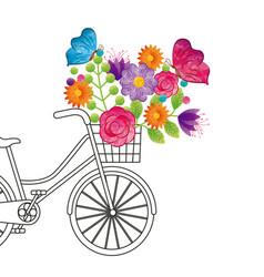 spring time design vector image