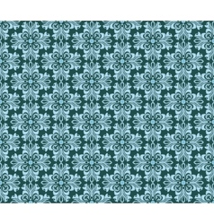 Vintage geometric floral classic pattern vector image