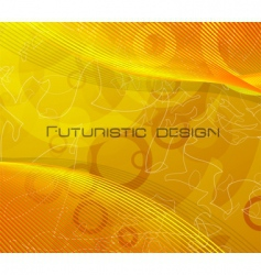 Futuristic design vector