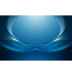 Abstract blue background 1 vector image