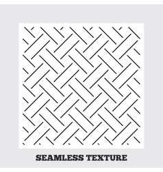Braided stripped geometric seamless pattern vector