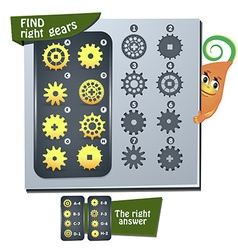 Find right gears vector