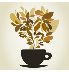 Coffee9 vector image vector image