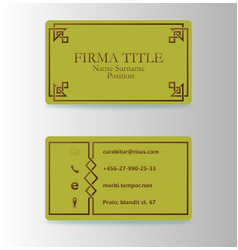 modern creative and trending vintage business vector image vector image