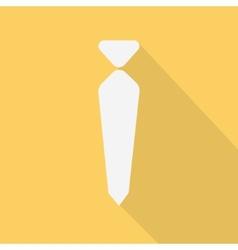 necktie flat design vector image vector image