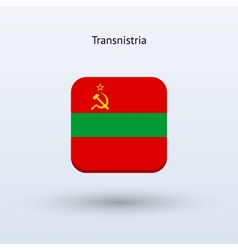 Transnistria flag icon vector