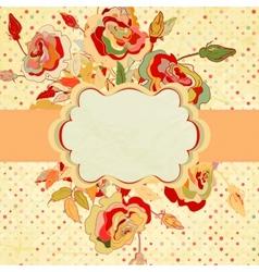 Vintage frame for your design EPS 8 vector image