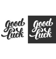 Good luck vector