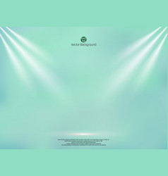 Blending green mint color background with vector