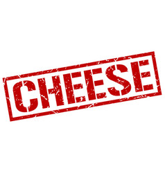 Cheese stamp vector