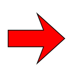 Arrow sign vector