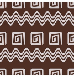 Ethnic inspired pattern vector