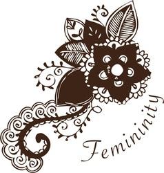 Asian femininity vector