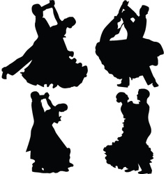 Dance people vector
