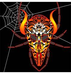 demonspider vector image vector image