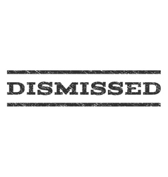 Dismissed watermark stamp vector