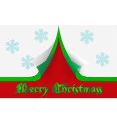 Merry Christmass card vector image vector image