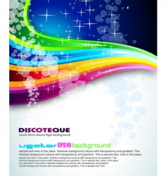 rainbow spectrum background vector image vector image