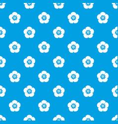 rose of sharon korean flower pattern seamless vector image vector image