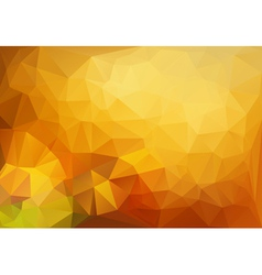 Vivid polygonal mosaic background vector