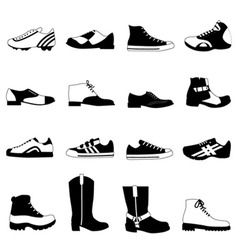 man's shoes vector image vector image