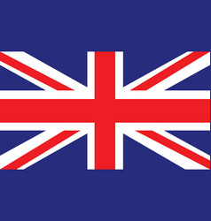 United kingdom flag for independence day and vector