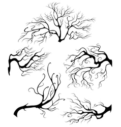 Liquid branches vector