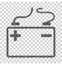 Accumulator grainy texture icon vector